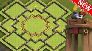 Base quot new update quot w bomb tower town hall 10 farming trophy base