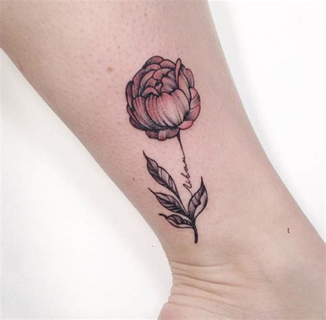 peonie tattoo 60 gorgeous peony tattoos that are more beautiful than
