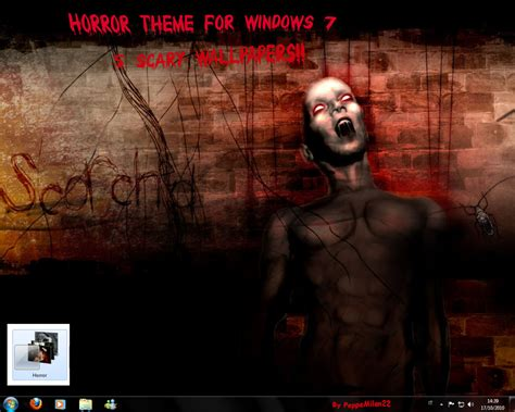 download themes windows 7 horror horror theme for windows 7 by peppemilan22 on deviantart