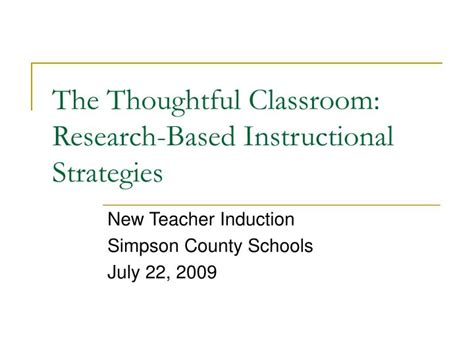 Research Based Letter Identification Strategies ppt the thoughtful classroom research based