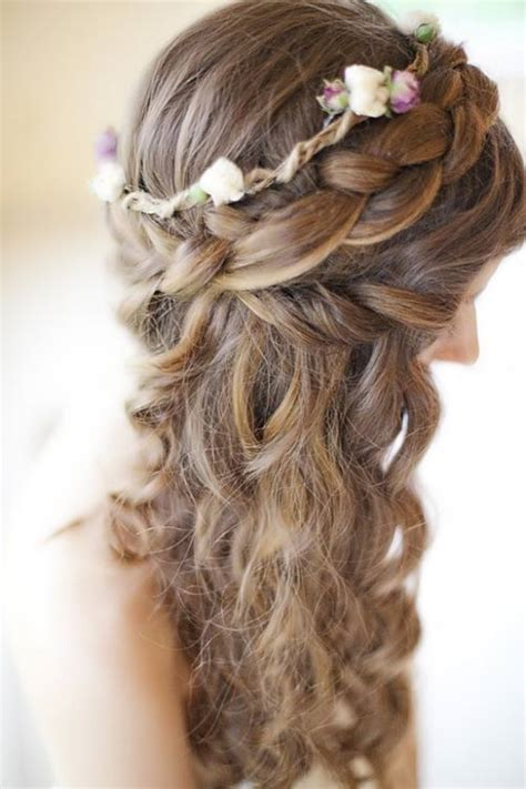 Wedding Hairstyles With Braids And Flowers by Stunning Photos Of Wedding Hairstyles With Braids And