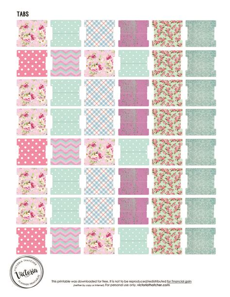 free printable planner tabs best 25 planner tabs ideas on pinterest printable tabs