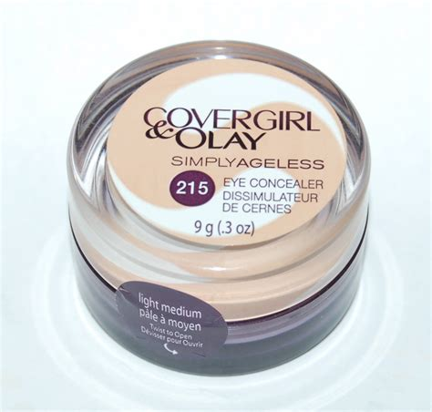 Olay Concealer covergirl and olay simply ageless color eye concealer 215