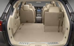Buick Enclave Cargo Capacity 2012 Buick Enclave Rear Cargo Space 190083 Photo 4