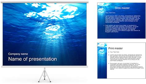 powerpoint themes underwater underwater powerpoint template backgrounds id 0000002440