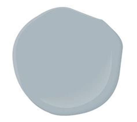 benjamin solitude modern family foyer paint color labrador blue from