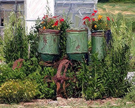 Flower Arrangements For Outside Planters by Outdoor Plantation Flower Pots Front Yard Landscaping