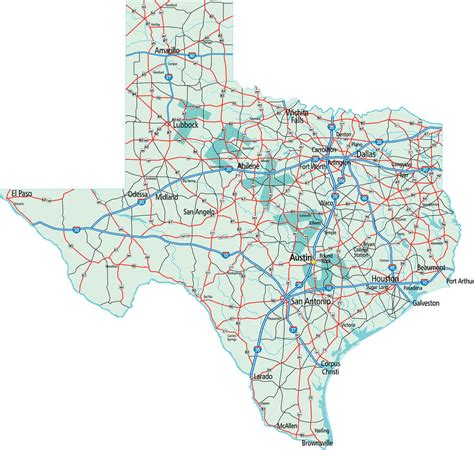 map of texas interstates texans among least likely to smoke marijuana greenhouse treatment center