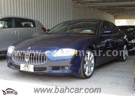 2010 Maserati Quattroporte Price by 2010 Maserati Quattroporte S For Sale In Bahrain New And