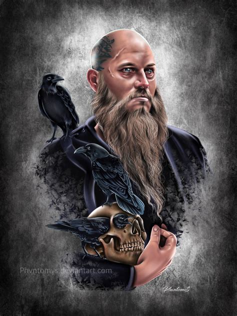 ragnar lothbrok tattoo artstation ragnar lothbrok phvntomv drawings and