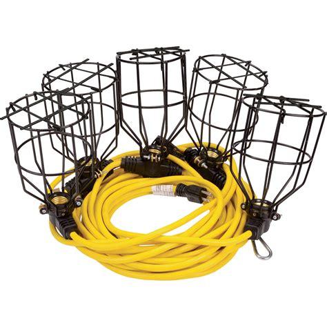 50 ft string lights klutch 50ft metal string lights 5 light string 125