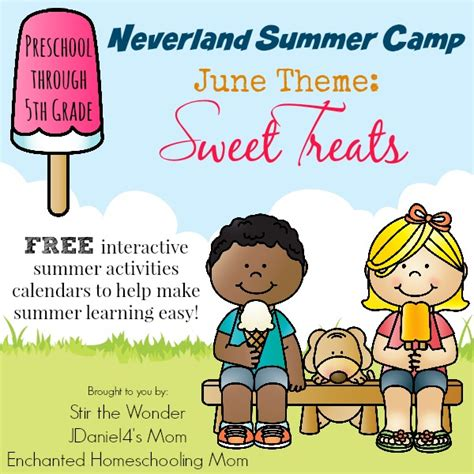 theme names for summer c neverland summer camp for kindergarten second grade june