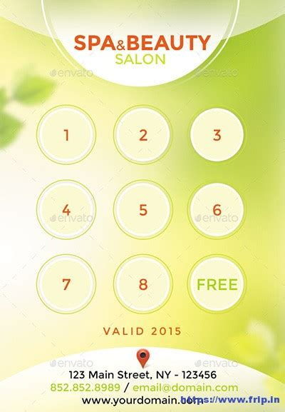 salon loyalty cards templates 15 best loyalty cards print templates 2017 frip in