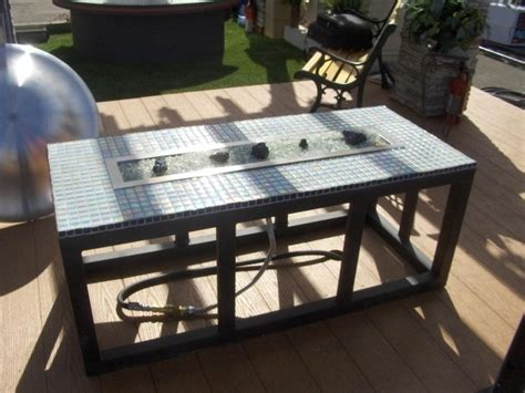 How To Build A Propane Fire Pit Table Fire Pit Ideas How To Build A Propane Pit Table