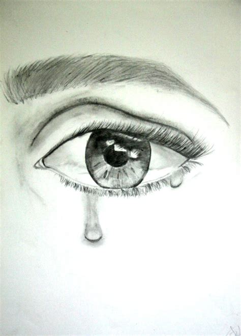 Imagenes De Ojos Llorando A Lapiz | ojos dibujados a lapiz llorando imagui