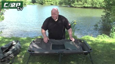 avid carp couch carpzone craddle youtube