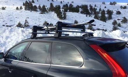 porte ski et snowboard pour voiture groupon