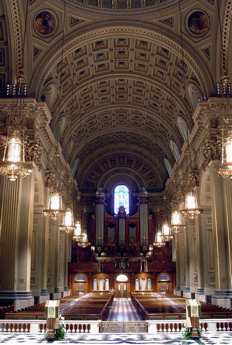 Wedding Aisle Organ by Cathedral Organ The Cathedral Basilica Of Saints