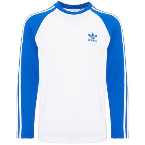 Wst 19184 Blue Stripe Embroidered Sleeve Blouse adidas blue 3 stripes ls cw1229 dandy fellow