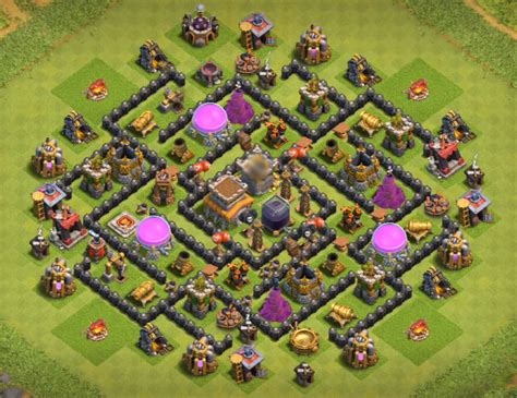 best defense town hall level 8 2016 top 12 best th8 defense base 2018 new update anti