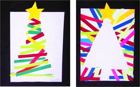 photos of elementary students christmas art trees happenings and for on