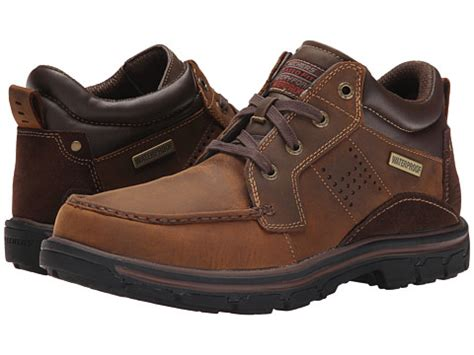 Sepatu Outdoor Skechers Segment Melego Brown Skechers Relaxed Fit Segment Melego At Zappos