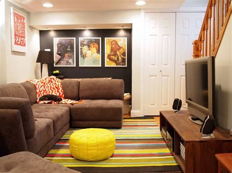 small basement living room design inspiring small basement ideas how to use the space creatively