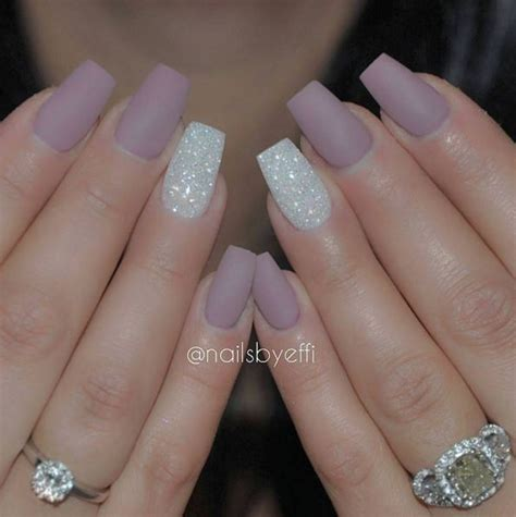 Simple Nail Ideas by Acrylic Nail Designs Glitter Www Pixshark