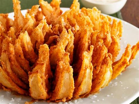 easy cheese onion slice bbc good food almost famous bloomin onion recipe food network kitchen