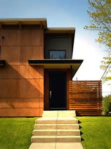 Wood Paneling Exterior by Exterior Design Contemporary Wood Paneling Trend Home