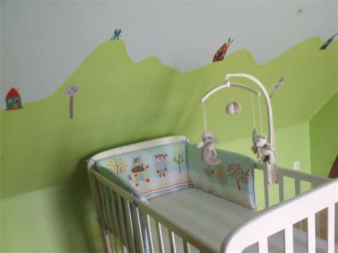 chambre enfant vert chambre de photo 6 12 3502041