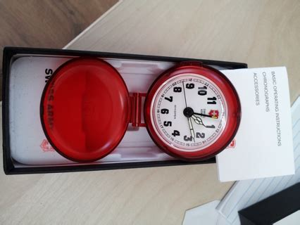 free swiss army travel alarm clock new in box other electronics listia auctions for