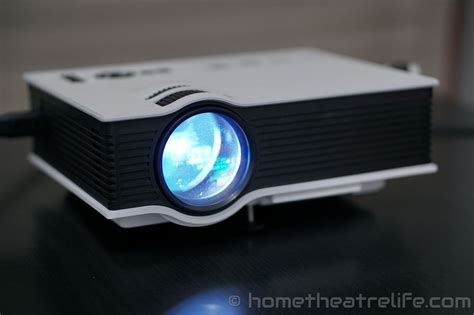 Proyektor Uc40 unic uc40 800lm led multimedia projector review home theatre