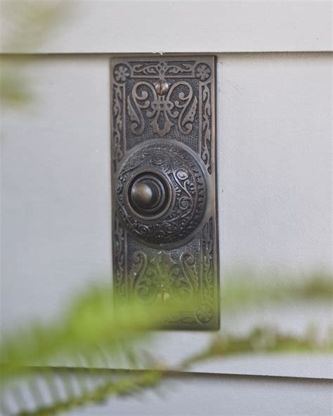 Front Door Bell Home Exterior Details Cedar Hill Farmhouse