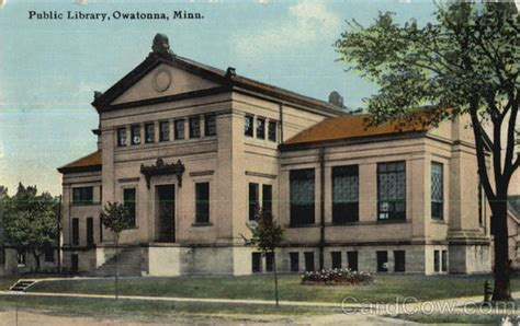 Owatonna Post Office by Library Owatonna Mn