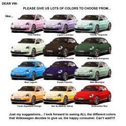 vwvortex com 2012 beetle colors