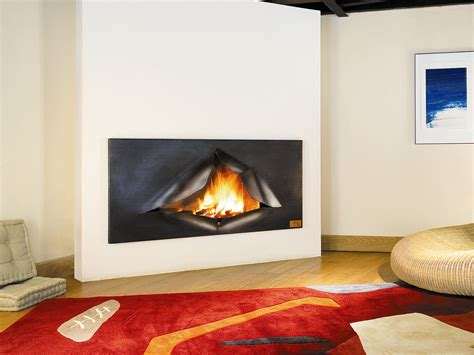 kaminofen wand built in wall mounted steel fireplace om 201 gafocus by focus