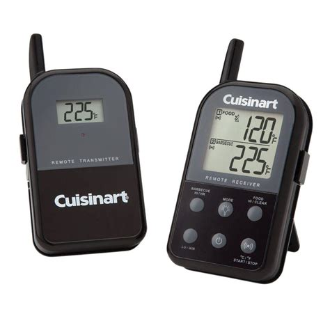 backyard grill wireless thermometer cuisinart dual probe digital wireless thermometer csg 900