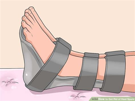 heel spur shoes 4 ways to get rid of heel spurs wikihow
