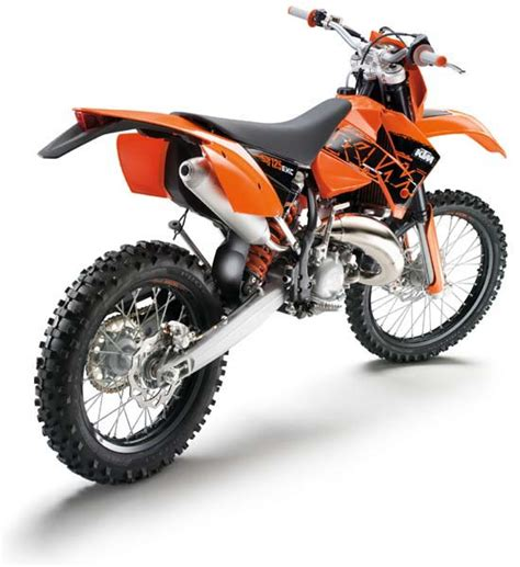 Ktm 125 Exc For Sale Road Ktm Exc125 Review And Photos