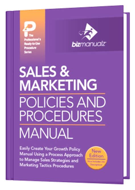 Procedures For Sales Pipeline Management Book Marketing Procedures Template