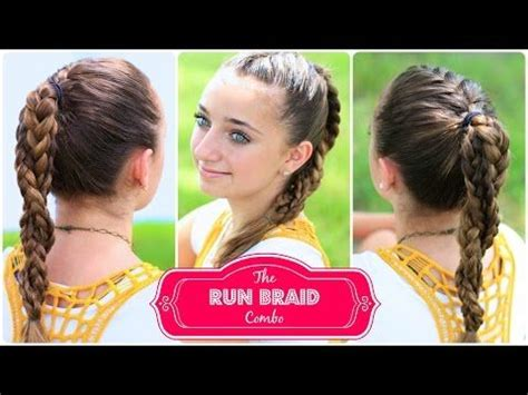running late ponytail hairstyles 183 just bebexo a the run braid combo hairstyles for sports if you know