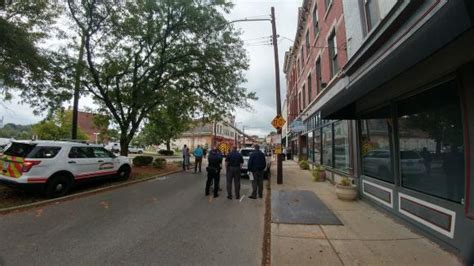 Steffens Tool Crib by Downtown Covington Wall Collapses Injures 4 On School