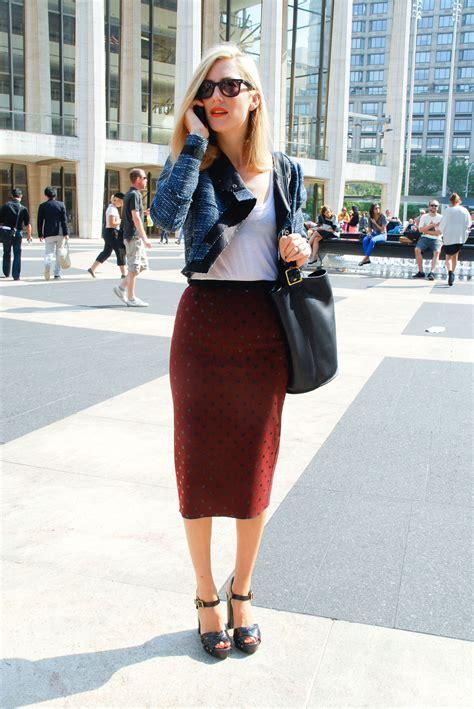 pencil skirts new york milan fashion week ss 12 9