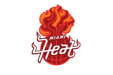 nba logo redesigns by michael weinstein michael weinstein nba logo redesigns miami heat