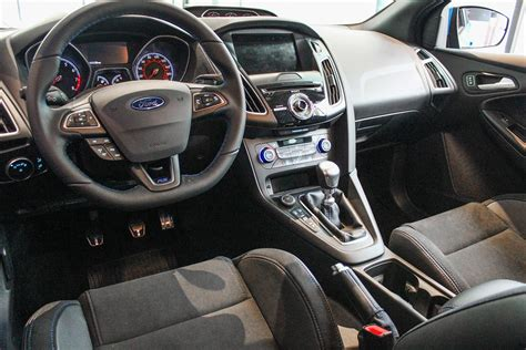 ford focus interior 2016 2016 ford focus rs first look spec pictures performance