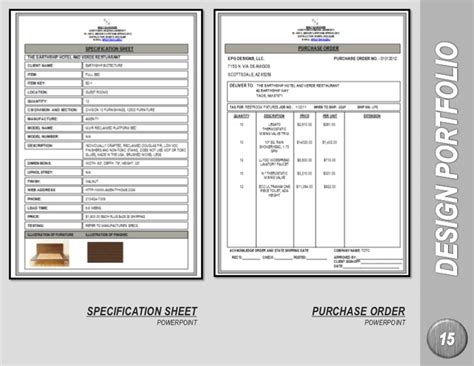 Sle Specification Sheet Template Exle Free Interior Design Spec Sheet Template
