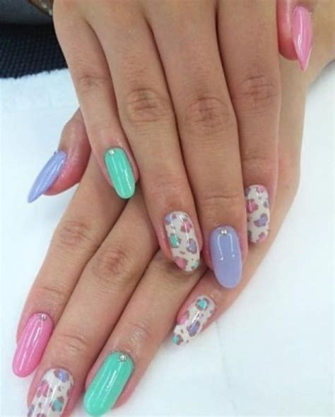 different color nails 25 best ideas about different color nails on