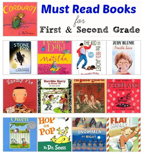 second books and second grade must read books