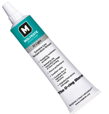 Molykote 33 Low Temperature Bearing Grease Moly Murah dow corning dc 33 light molykote grease 5 3 oz